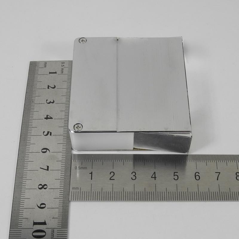 Light Guide Quartz Metal Plastic Cover Trapezium 15mm