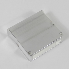 light guide, quartz + metal plastic cover, trapezium, 15mm*50mm*65mm*57mm H57mm, without coating